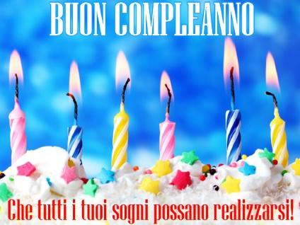 Immagini Di Buon Compleanno Auguri Di Buon Compleanno