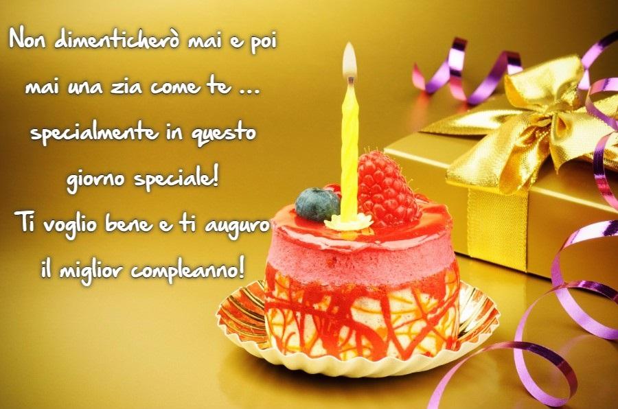 Estremamente Frasi di Auguri di Buon Compleanno Zia - Auguri di Buon Compleanno BI39
