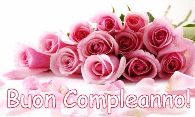 Ben noto Immagini di buon compleanno con fiori - Auguri di Buon Compleanno WW54