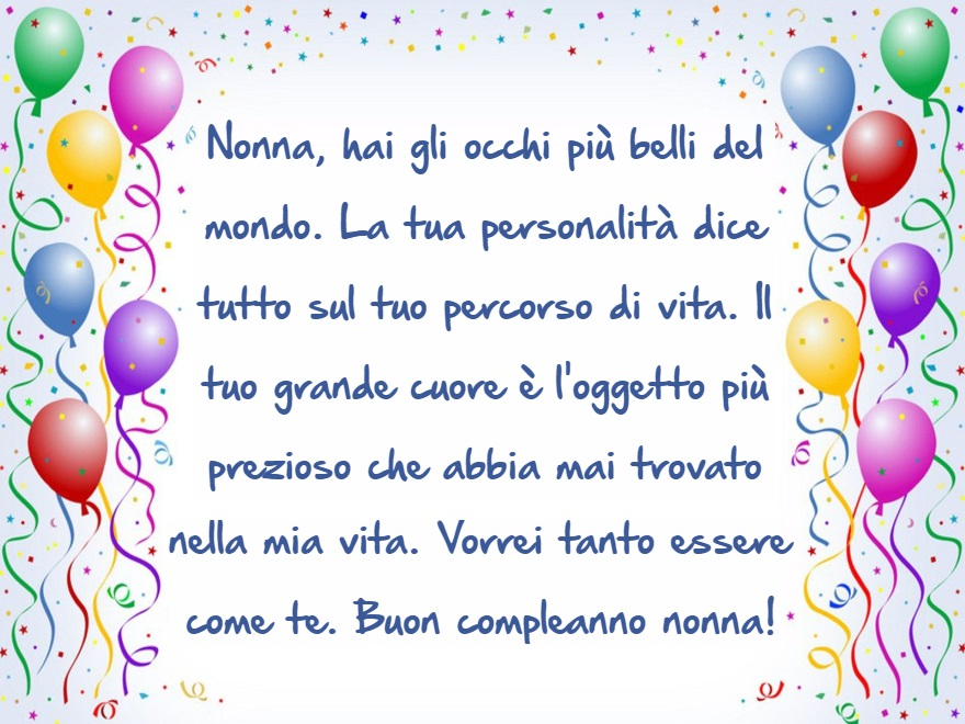Frasi Di Auguri Di Buon Compleanno Nonna Auguri Di Buon Compleanno